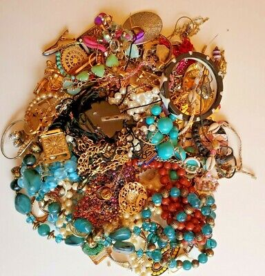 $ CDN31.49 • Buy Unsearched Jewelry Vintage Modern Lot Wear Junk Craft 2.85 Pounds