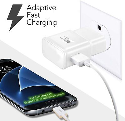 $ CDN9.69 • Buy OEM Samsung USB Fast Charger  Wall Charging Cable Galaxy S8 S9 S10 Plus Note 8 9