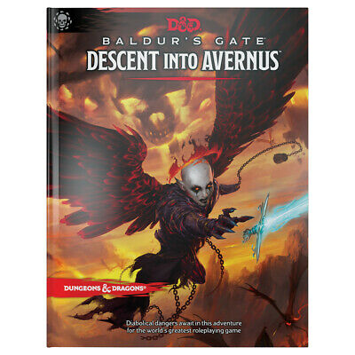 AU59.50 • Buy D&D Baldur's Gate Descent Into Avernus Hard Cover 5th Edition Book