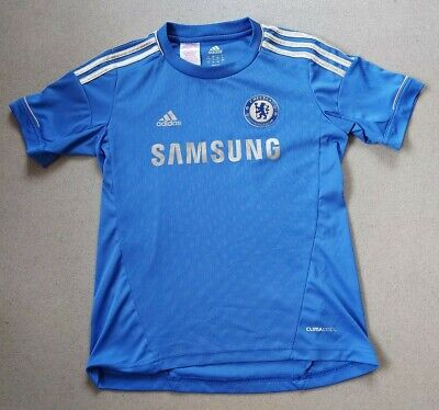 Chelsea London 2012/2013 Home  Football Shirt Jersey Adidas Size 11-12 Years • 10.99£