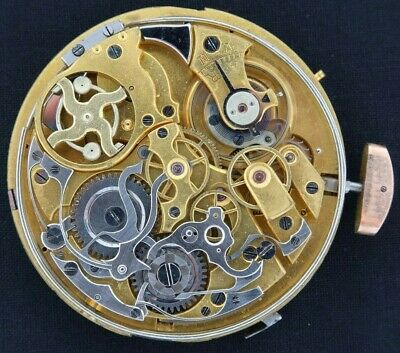 $ CDN846.97 • Buy Antique Swiss Quarter Repeater Chronograph Manual Wind Pocket Watch Movement
