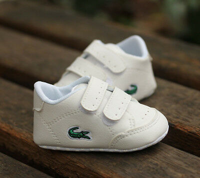 £3.53 • Buy Newborn Baby Boy Girl Crib Shoes Faux Leather Infant Toddler Pre Walker Sneakers