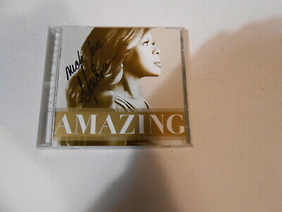 AU11.99 • Buy Macia Hines-amazing-11 Track Cd-cover Signed By Marcia-diesel-russell Crowe