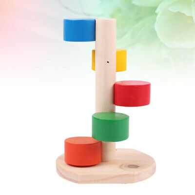 Pet Wooden Playing Climbing Ladder Funny Molar Toys Pet Supplies For Hamster • 5.17£