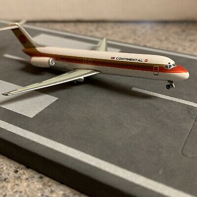 $68.99 • Buy Net Modes 400 Scale Diecast Model Continental DC9-32 Commercial Airliner N542TX