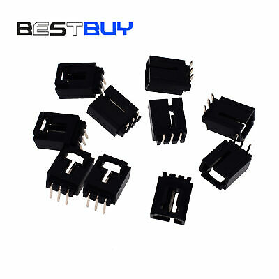 AU3.94 • Buy 50PCS 3PL 2.54mm Dupont Jumper Wire Cable Housing Male Pin Connector BBC