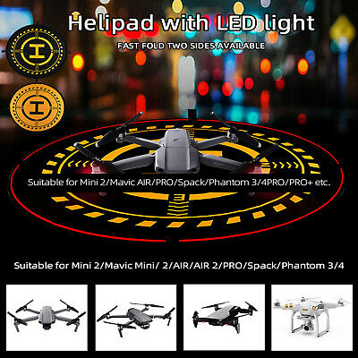 AU36.95 • Buy Stacked Helipad Landing Pad With LED Lighting For MAVIC 2 V2.0 Drone Accessorie