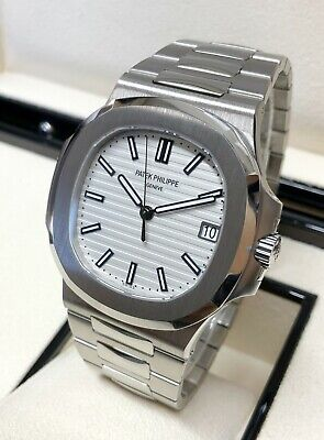 £72995 • Buy Patek Philippe Nautilus 5711 1A011 White Dial 2019 WITH PAPERS