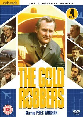 The Gold Robbers 1969 Complete Series Peter Vaughan Network 4 DVD Set Rare • 9.99£