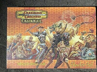 AU71.04 • Buy Dungeons & Dragons CHAINMAIL Miniatures Game Starter Set Metal Miniatures D&D