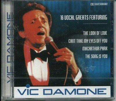 £3.49 • Buy Vic Damone - 16 Vocal Greats - Vic Damone CD ZGLN The Cheap Fast Free Post The