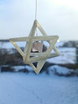 Merkaba Window Ornament With Crystal  • 15£