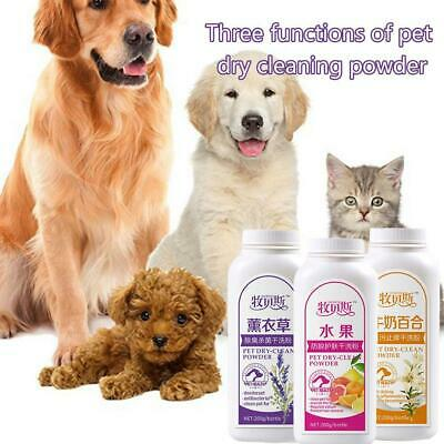Pretty Baby Pet Dry Cleaning Powder Shampoo Deodorant For Dog/Cat E5G0 • 6.75£