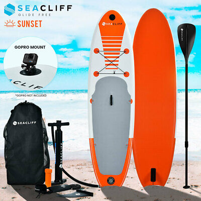 AU282 • Buy 【EXTRA15%OFF】SEACLIFF 10ft Stand Up Paddle Board SUP Paddleboard Inflatable