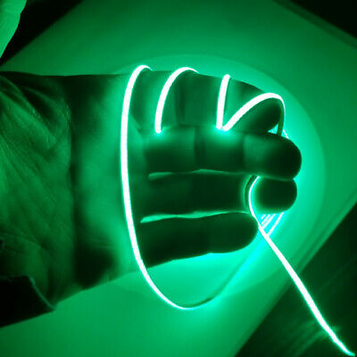 $19 • Buy 3mm Wide COB LED Strip Green Super Narrow Very Flexible And Bright LEDs 5M Long