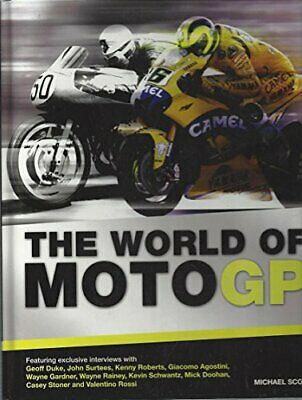£3.99 • Buy The World Of MOTO GP Book The Cheap Fast Free Post