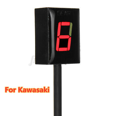 AU34.77 • Buy For Kawasaki Z250 Z750 VN900 KLE650 Motorcycle Gear Indicator Red LED Display