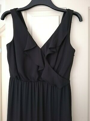 AU20 • Buy Forever New Black Maxi Dress Size 8