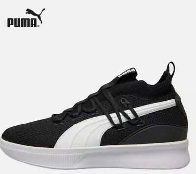 Puma Mens Clyde Trainers Court Basketball Sneakers Black UK Size 10.5  NEW 🏀  • 39.99£