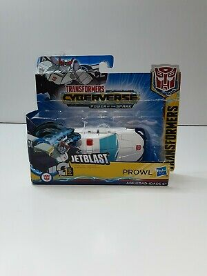 Transformers Cyberverse Action Attackers: 1-Step Changer Prowl Action Figure Toy • 6.08£