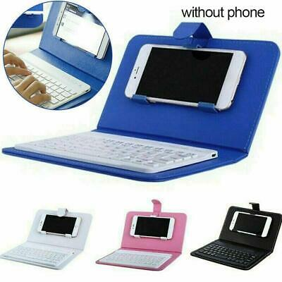 £11.70 • Buy Wireless Bluetooth Keyboard Case Leather Stand Cover For IPhone Phone K4M2