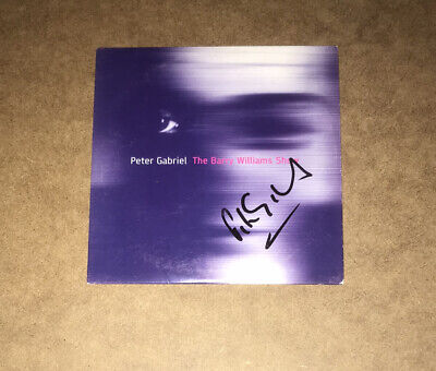 £89.99 • Buy Signed Peter Gabriel Cd The Barry Williams Show Rare Genesis Phil Collins