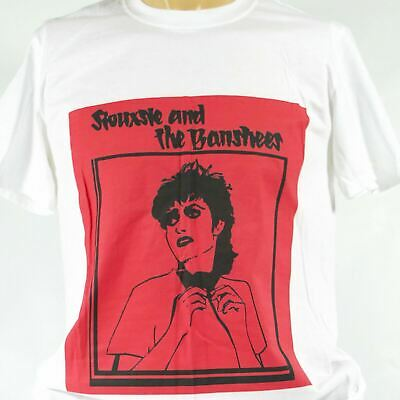SIOUXSIE AND THE BANSHEES Punk Rock T-shirt S-3XL • 12.99£