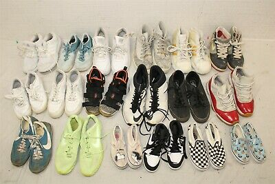 $ CDN133.53 • Buy Sport Sneakers Shoes 31 POUND HUGE Mixed Lot Wholesale Used Rehab Resale