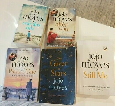 AU30 • Buy Jojo Moyes -after You, The One Plus One, Paris For One, Still Me, Giver Of Star