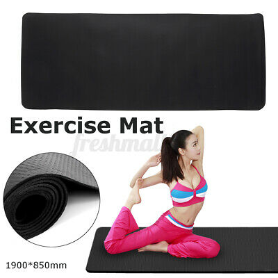 AU26.48 • Buy Treadmill Bike Exercise Mat Sports Gym Yoga Equipment Go Fit Protect Cover 190cm