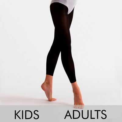 £3.25 • Buy Silky Child Essential Footless Tights 40 Denier Black Ages 3 To 13
