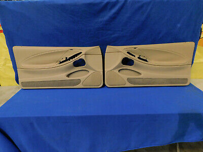$269.99 • Buy 99 00 01 02 03 04 Mustang Parchment Door Panel Pair Panels OEM Take Offs H78