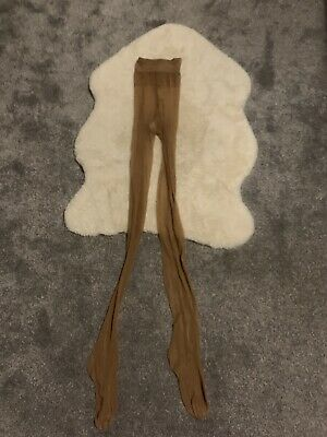 Dark Nude Wolford Tights Size L • 8£