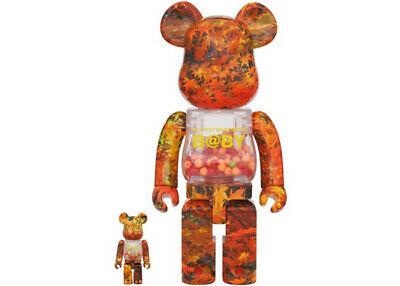 $1090 • Buy Bearbrick My First BE@RBRICK B@by Autumn Leaves Ver.100% & 400%