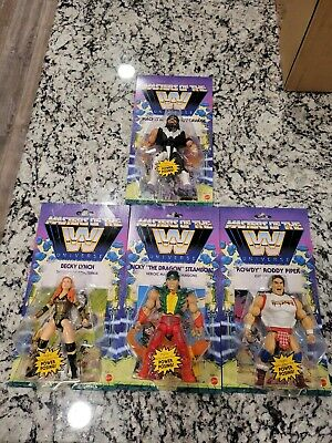 $140 • Buy 🔥WWE Masters Of The Universe Wave 5 Action Figures Complete Set Of 4 NEW 🔥