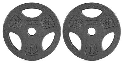 """$ CDN119.99 • Buy 🔥CAP 10LB Weight Plates Pair 1"""" Inch - Brand New ( FAST FREE SHIPPING 🇨🇦) 🔥"""
