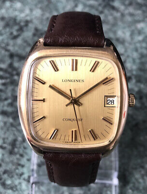 $ CDN158.48 • Buy Superb Vintage 1974 LONGINES CONQUEST Manual Wind Watch Cal 6952 Fully Working