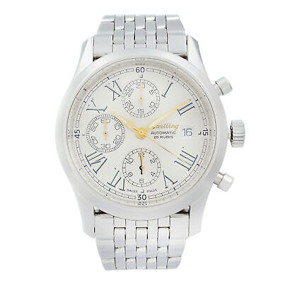 £2702.15 • Buy Breitling Navitimer Grand Premier Steel Silver Dial Automatic Men Watch A13024.1