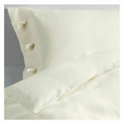 IKEA Linblomma 100% Linen Duvet Cover Sets White Single X 2  BN (not In Packet) • 50£