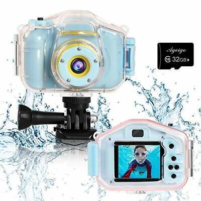 Kids Camera Waterproof Toys For 3-12 Year Old Boys Girls Christmas • 37£