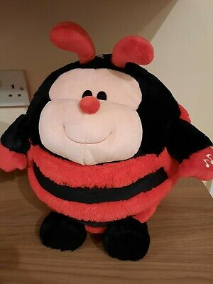Large Mushabelly Ladybird Soft Plush Toy With Sounds • 5£