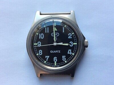 $ CDN300.90 • Buy CWC W10,G10  Military Royal Navy 0552 Watch 1990 Good Condition New Strap