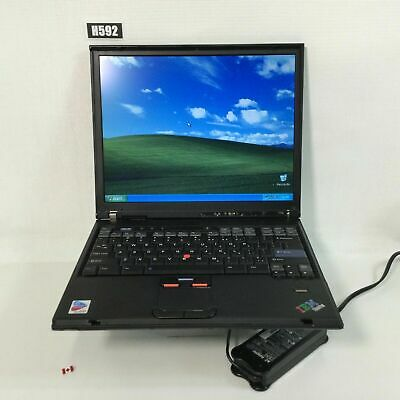 "Lenovo Ibm Thinkpad T42 14.1"" Laptop Pentium M 2gb 160gb Win Xp Pro H592 • 75.72£"