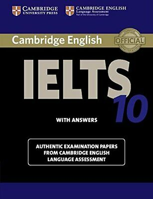 £9.09 • Buy Cambridge IELTS 10 Student's Book With Answers: Authe... By Cambridge Eng Lang A