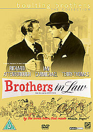 BROTHERS IN LAW RICHARD ATTENBOROUGH, IAN CARMICHAEL New Sealed.British DVD • 9.99£