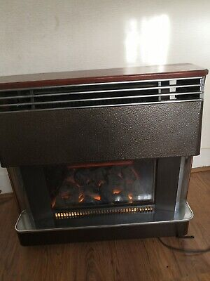 £68 • Buy Baxi Vintage Gas Fire With Elecrtic Coal Effect.