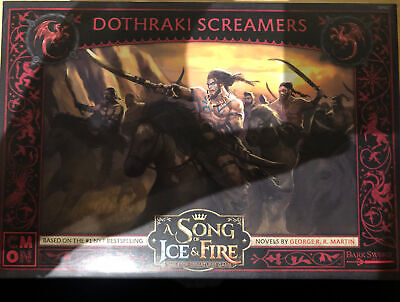 £22 • Buy Targaryen Dothraki Screamers A Song Of Ice And Fire Expansion Game Of Thrones