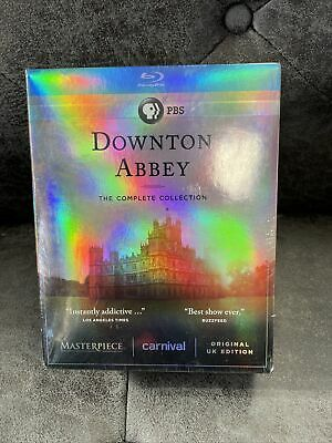 Downton Abbey: The Complete Collection [Blu-ray] Sealed Seasons 1-6. Brand New! • 35.46£