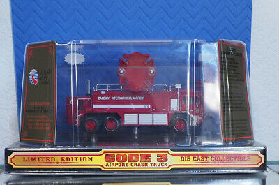 $49.95 • Buy Code 3 Calgary Airport Crash Fire Truck 1 OF 5000 Year 2000 RELEASE Ltd MIP