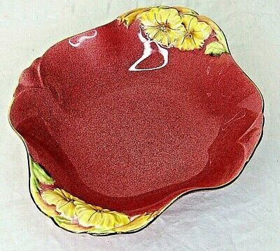 $ CDN36.38 • Buy Royal Winton Grimwades Vegetable Petunia Serving Bowl Pink Floral England Vtg
